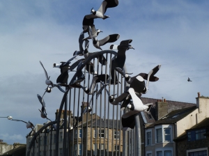Boids on Morecombe front